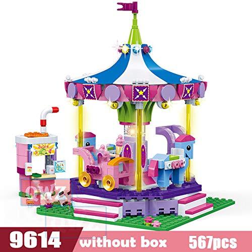 AEM Friends Series House Bedroom Baño Piano Room Modelo Bloques de construcción Ladrillos Juguetes para niños Niñas Juguete, 9614 sin Caja