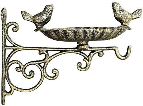 BAODI Comedero para Pájaros Comedor de pájaros amistosos con Gusanos de la harina incluida Caja de anidación para Aves al Aire Libre Wild Bird Semerge Station