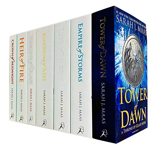 Throne Of Glass Series Collection 7…