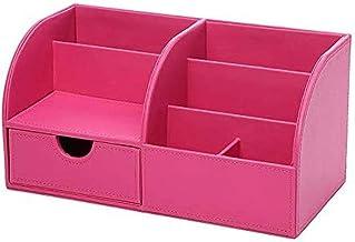 SCDZS Pudełko odbiorcze wysokiej jakości PU dobrze klasyfikowane etui do przechowywania perfum makijaż biżuteria organizer...