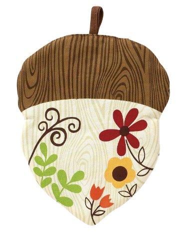 Ritz Sleepy Owl Collection Printed Novelty Acorn Pot Holder