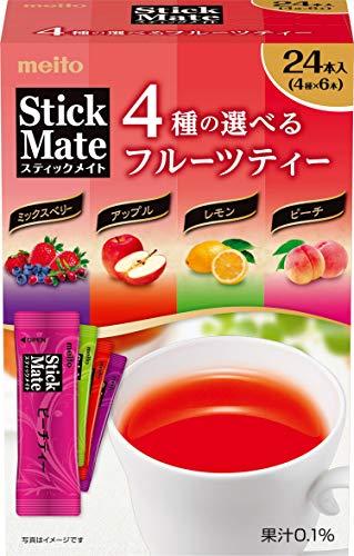 名糖産業『スティックメイト フルーツアソート 24P』