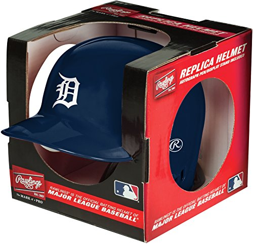 Rawlings MLB Detroit Tigers Mini Replica Helmet, Blue
