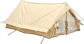 フランス陸軍 官給品 テント 2人用 グランドシート/蚊帳付き シングルエントランス KHAKI