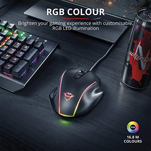 Trust GXT 165 Celox RGB Gaming Maus