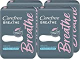 Best Carefree Pads - Carefree Breathe Panty Liners, Irritation-Free Protection, Individually Wrapped Review