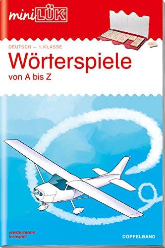 miniLÜK-Übungshefte: miniLÜK: 1./2. Klasse - Deutsch: Wörterspiele (Doppelband): Deutsch / 1./2. Klasse - Deutsch: Wörterspiele (Doppelband) (miniLÜK-Übungshefte: Deutsch)