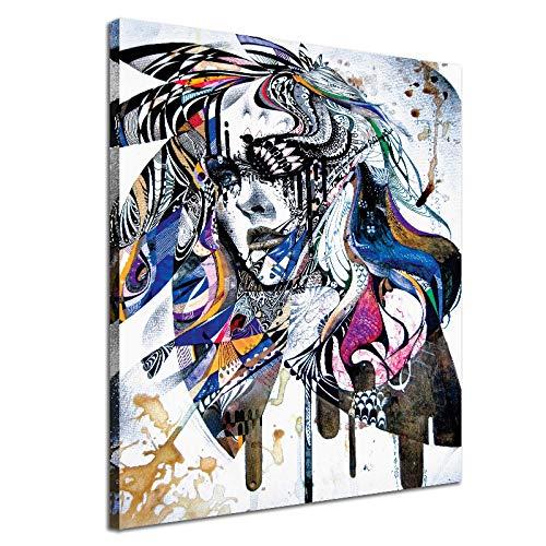 ZWB-Peintures décoratives:La décoration de la Peinture de Noyau, Une Femme rêve coloré d'imprimante d'ordinateur de Peinture à l'huile, S