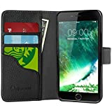 i-Blason Wallet Case Designed for iPhone 7 Plus/iPhone 8 Plus ,  Kickstand  Leather Cover with…