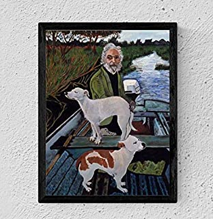 MugKD LLC Painting of Old Man with Dogs Done by Tommy's Mother Goodfellas Movie Poster Gifts for Fan [No Framed] Poster Home Art Wall Posters