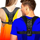 Posture Corrector for Men Women - Comfortable Back Posture Corrector Brace - Adjustable