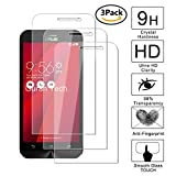 Guran [3 Pezzi] Pellicola Protettiva per ASUS Zenfone Go ZB500KL Smartphone Ultra Sottile Screen Protector in Vetro Temperato Film Ultra Resistente
