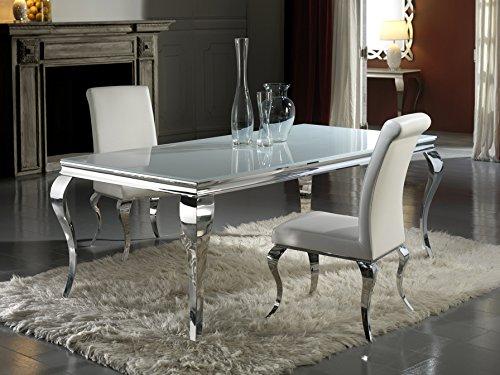 Hogar Decora Table à manger Broche 200 cm