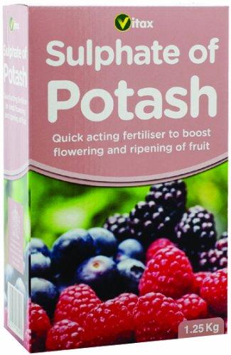 Vitax Sulfate de potasse d'engrais 1,25 kg