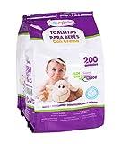 Formybaby BY11020160858 - Toallitas húmedas para bebés, 200 unidades, con tapa