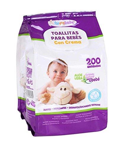 Formybaby BY11020160858-lingettes humides pour bébé 200 Cuir