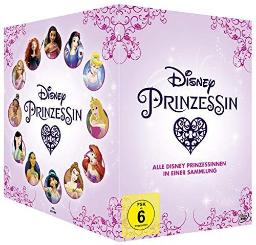 Disney Prinzessin - Alle Disney Prinzessinnen in einer Sammlung [12 DVDs]