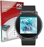 atFoliX Schutzfolie kompatibel mit UMiDigi UWatch Folie, ultraklare & Flexible FX Bildschirmschutzfolie (3X)