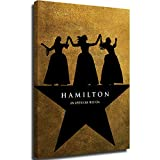 Canvas pictures for bedroom cow paintings canvas wall art schuyler sisters hamilton poster Room Decor 20x36inch