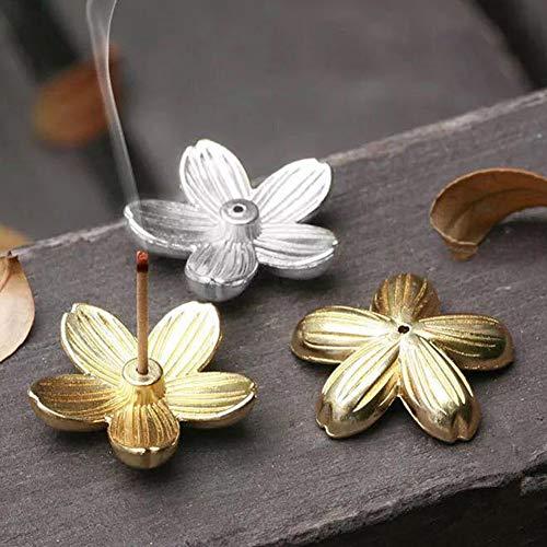 YSoutstripdu Sakura Floral Incienso Soporte para...