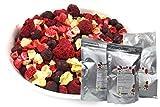TALI Bunter Beeren Mix 175 g - Gefriergetrocknete Ananas, Erdbeeren, Himbeeren, Schwarze...