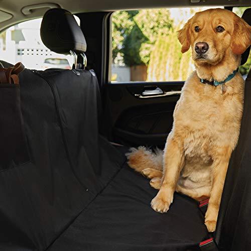 Gorilla Grip Original Premium Waterproof Slip-Resistant Pet Car Seat Protector for Pets, Durable...