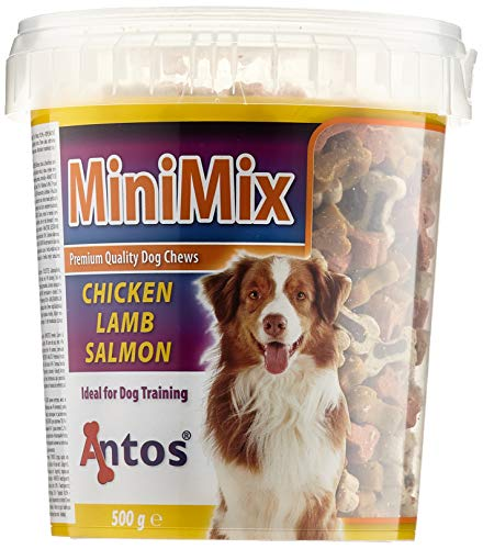 Antos Mini Mix Training Treat Tub Dog, 500 g