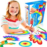 SHEFIZ Gift Watercolor Rainbow Magic Set for Girls and Boys-Kids Art Kit with 6 Sponge Brushes, 6 Count