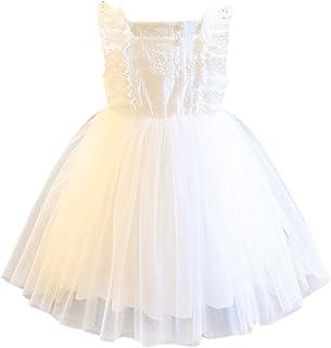 Bébé Filles Disney Princesse Robe Tutu Anniversaire Mariage Fête Sling Dresses Up Vêtements filles (0-24 mois)