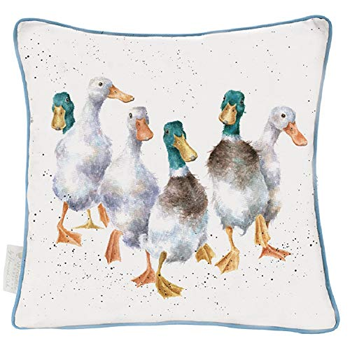 Wrendale Designs The Country Set Kissen Quackers, groß