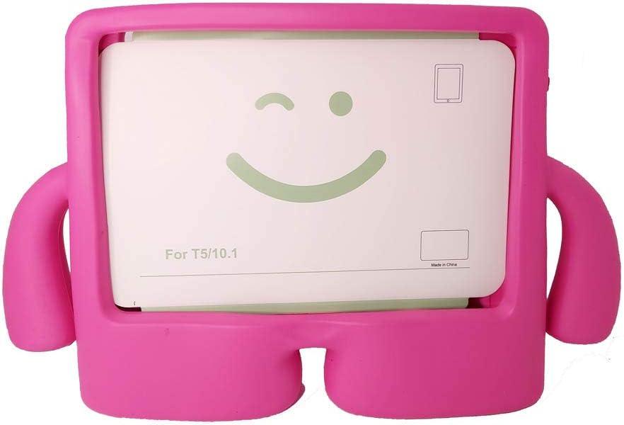 APOKIN Funda Infantil para Tablet Huawei T5 10,1 ni/ños Goma Violeta