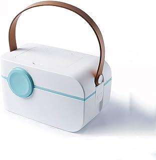Multi-Layer Medicine Box Multi-Function Medical Box Medicine Storage Box Portable First Aid Kit with Small Pill Box Multi-Color Optional MJZDD (Color : White)