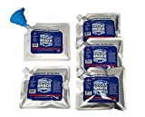 Set of Cooler Shock Ice packs - high performance 18 degree Fahrenheit using phase change science to achieve 8 -10 hour cooling - avoid spoilage so you can eat your lunch! Safe US Made