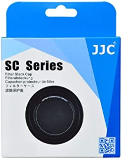 JJC SC-58II Slim Metal Filter Stack Cap for UV, CPL, ND Filter Protection (58mm)