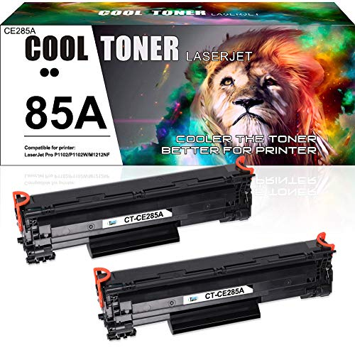 Cool Toner Kompatibel Tonerkartusche Replacement für 85A CE285A für HP Laserjet P1102W P1102 Pro M1132 P1106 P1108 P1109 P1109W M1130 M1136 M1132 M1130 M1132 M1136 M1210 M1210 MFP M1212