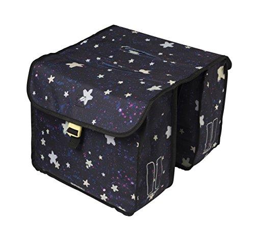 Basil Unisex Jugend Stardust Doppelpacktasche, Nightshade, 32 cm x 15 cm x 34 cm