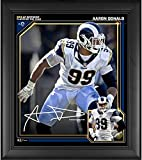 Aaron Donald Los Angeles Rams 2018 NFL Defensive Player of the Year Framed 15' x 17' Collage - Facsimile Signature