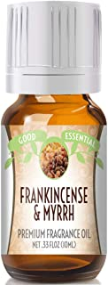 Frankincense & Myrrh Scented Oil by Good Essential (Premium Grade Fragrance Oil) - Perfect for Aromatherapy, Soaps, Candle...