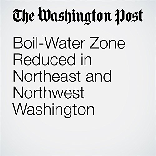 Boil-Water Zone Reduced in Northeast and Northwest Washington copertina