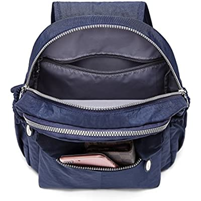 Blue 10L AOTIAN Nylon Casual Small Backpack Purse Lightweight Daypack Very Handy Bag for Traveling Outing Hiking