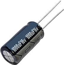 Aerzetix: 10x Condensateur Chimique Low ESR 1000µF ±20% 16V THT 105°C 7000h Ø10x20mm Radial 46mΩ 1400mA C14685