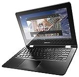 Lenovo Yoga 300-11IBR - Portátil táctil de 11.6' (Intel Celeron N3050, 2 GB de RAM, Disco eMMC 64 GB SSD, Windows 10), Color Blanco -Teclado QWERTY Español