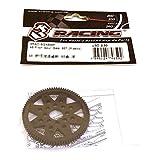 3Racing RC Model Hop-ups 3RAC-SG4885P 48 Pitch Spur Gear 85T (Plastic)
