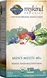 Garden of Life Multivitamin for Men - mykind Organic Men's 40+ Whole...