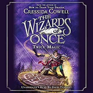The Wizards of Once: Twice Magic audiobook cover art