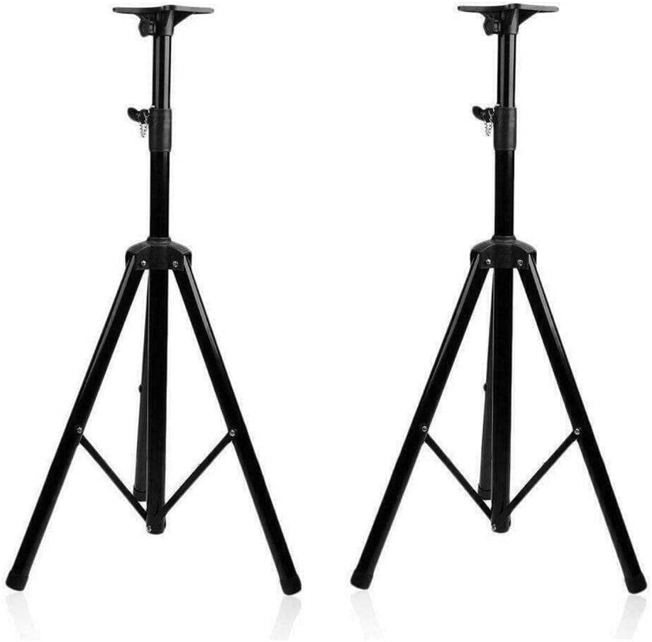 DFGH Heavy-Duty Tripod Studio Monitor Speaker Stand Adjustable Fashion Manufacturer regenerated product