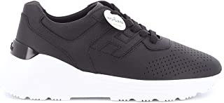 Luxury Fashion | Hogan Men HXM4430BR10L11991X Black Leather Sneakers | Spring-summer 20