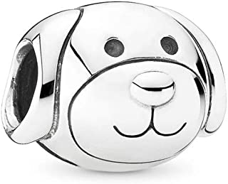 PANDORA Devoted Dog Charm, Sterling Silver, One Size