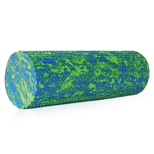 ASADVE 30/60/45 cm Bloque de yoga Pilates Rodillo de espuma de punto de gatillo rodillo de masaje Organización muscular, gimnasio, yoga, pilates, entrenamiento, 30 cm