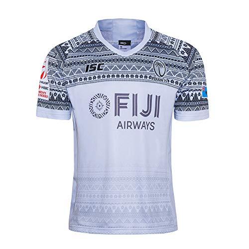 LQsy NFL Fußball Trikot 2020 Fidschi Sevens Fan Version Sport Kurzarm Atmungsaktives T-Shirt S-XXXL